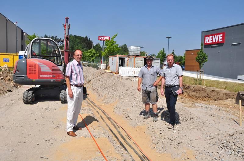 Stadtwerke Erschliessen Das Gewerbegebiet Im Sand Ii Stadt